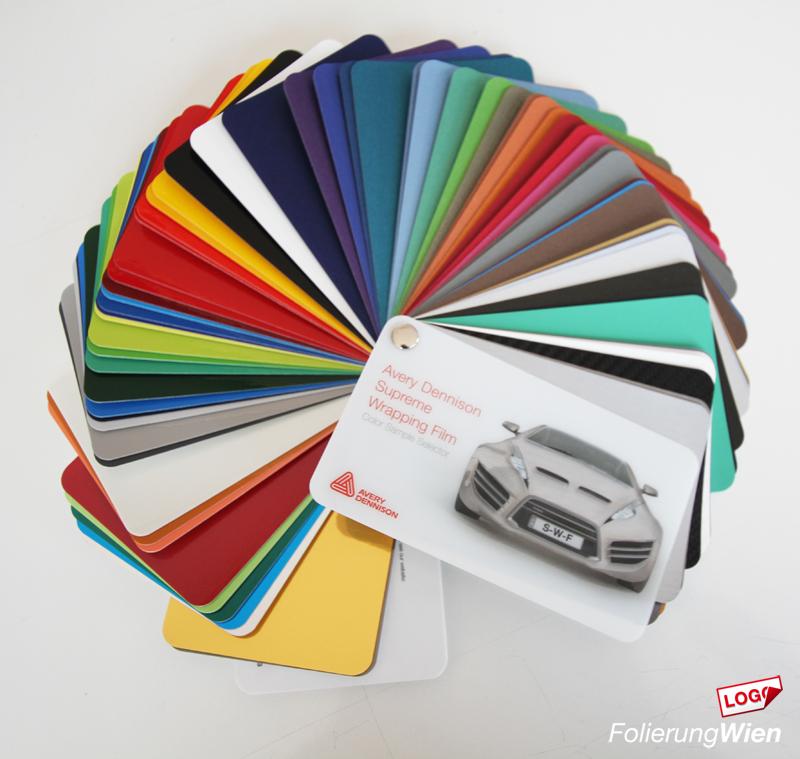 Folie Farben