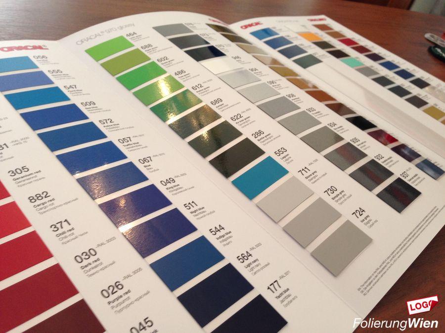 Farben Effekte Folien
