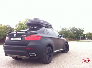bmw x6 matt folierung