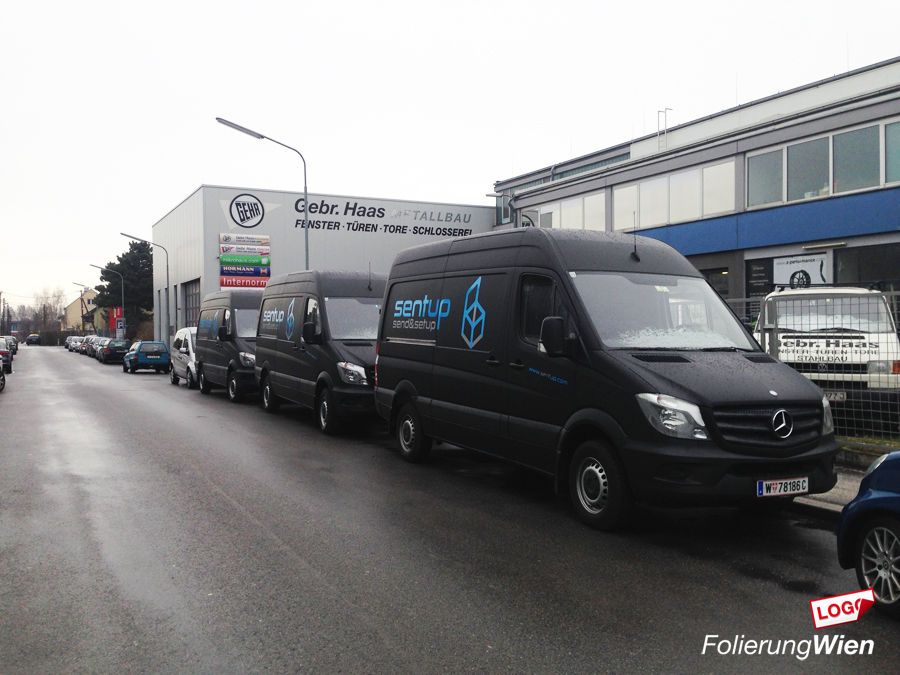 Mercedes Folieren Sprinter
