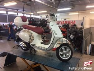 Motorrad Folieren Wien